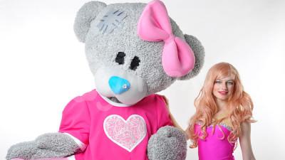 Мишка Тедди и Барби