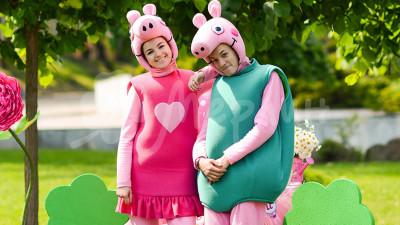 Свинка Пеппа  и Джорж
