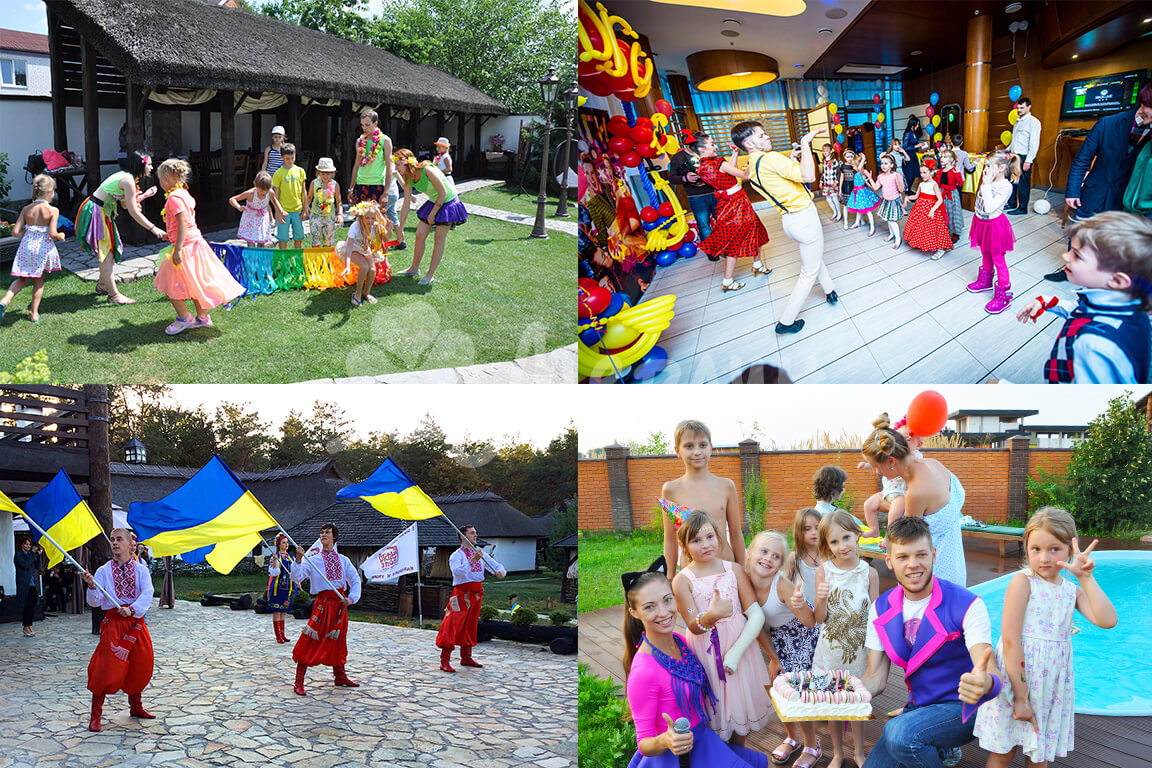 Детские праздники Днепропетровск