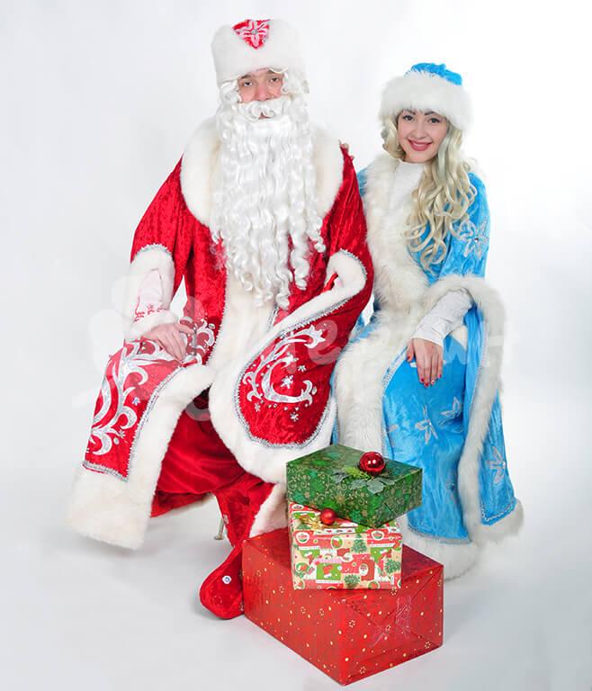 Костюм Деда Мороза и Снегурочки Днепр