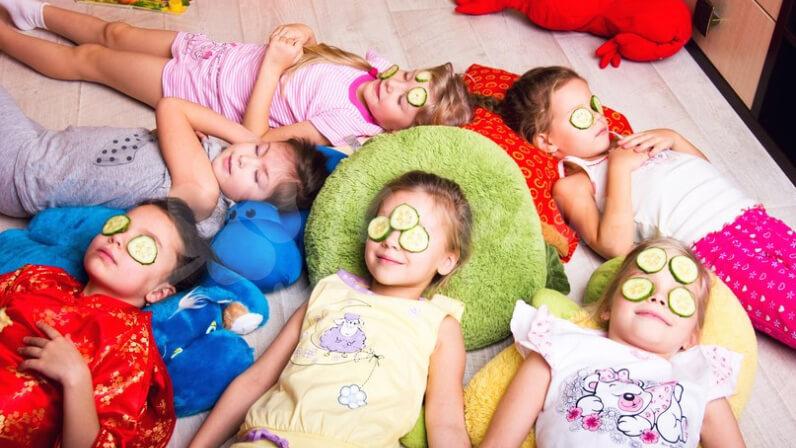 Пижамная вечеринка детские праздники Днепро