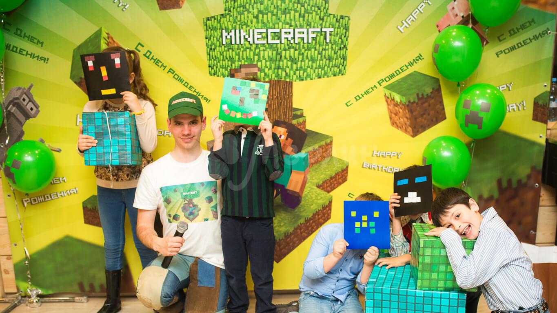 Майнкрафт детские праздники Днепро