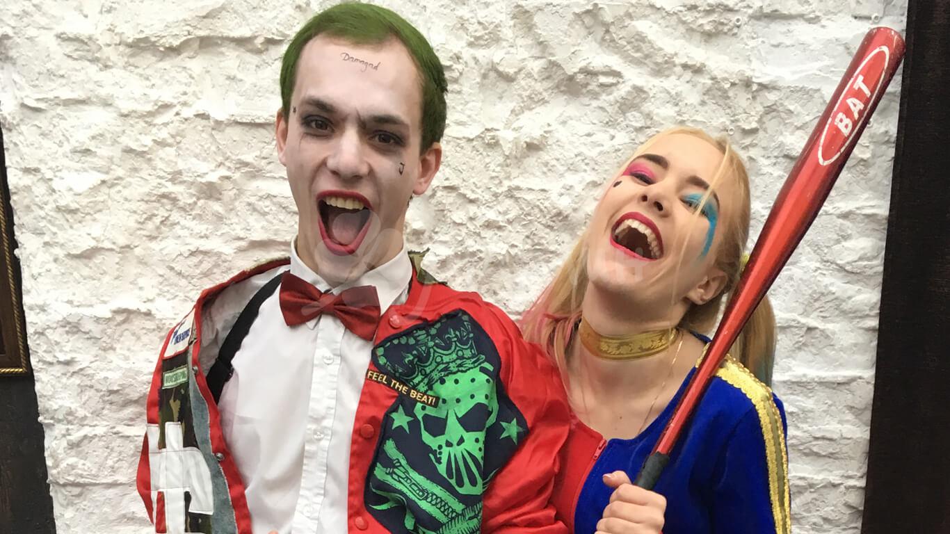 Харли Квинн и Джокер детские праздники Днепро