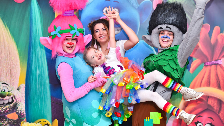 Тролли детские праздники Днепро