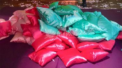 Pillow show –подушечное шоу